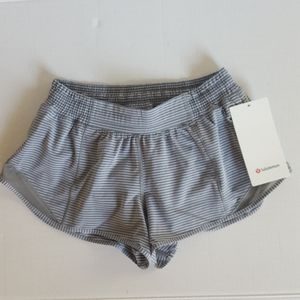 "Lululemon Hotty Hot Short LR 2.5"" Hype Stripe"